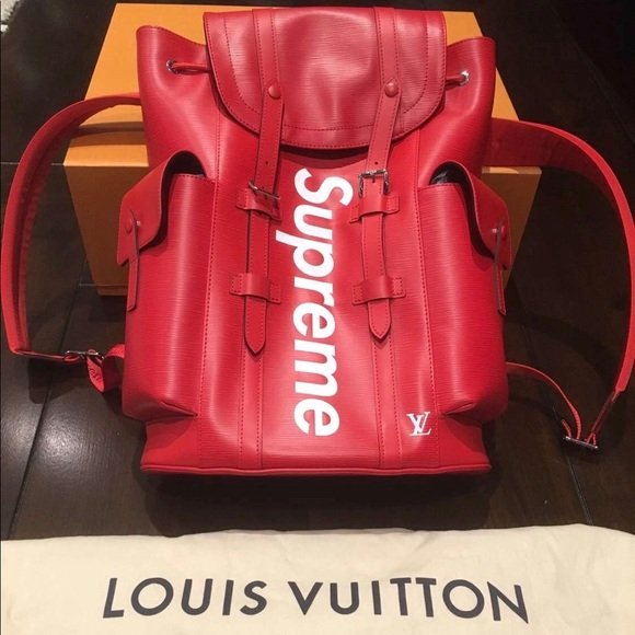 ecda3967582 Supreme x Louis Vuitton Backpack NWT